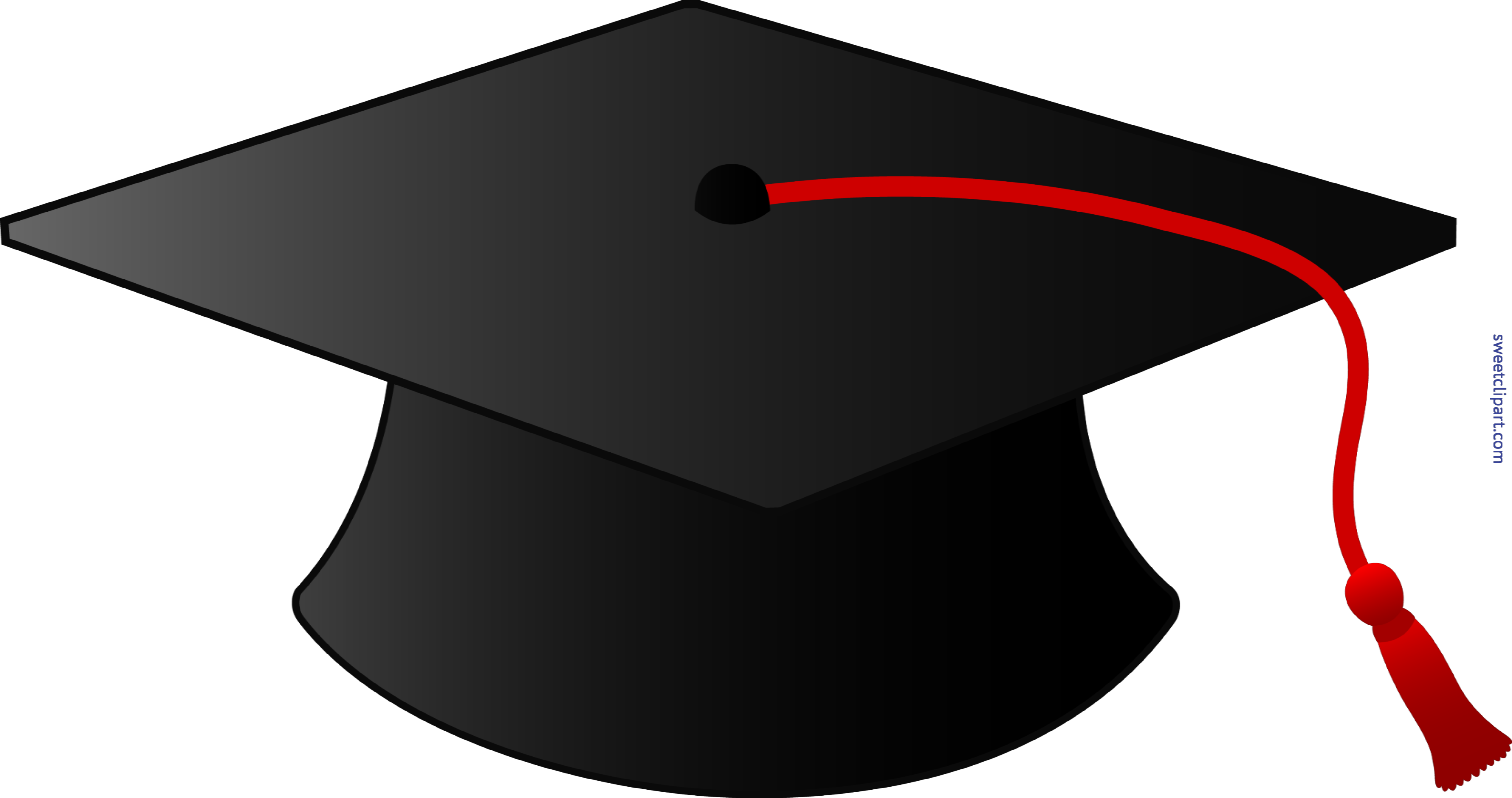 Cap with tassel clip. Clipart borders graduation