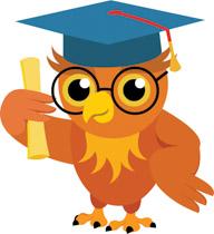 Graduate clipart cute. Free graduation clip art
