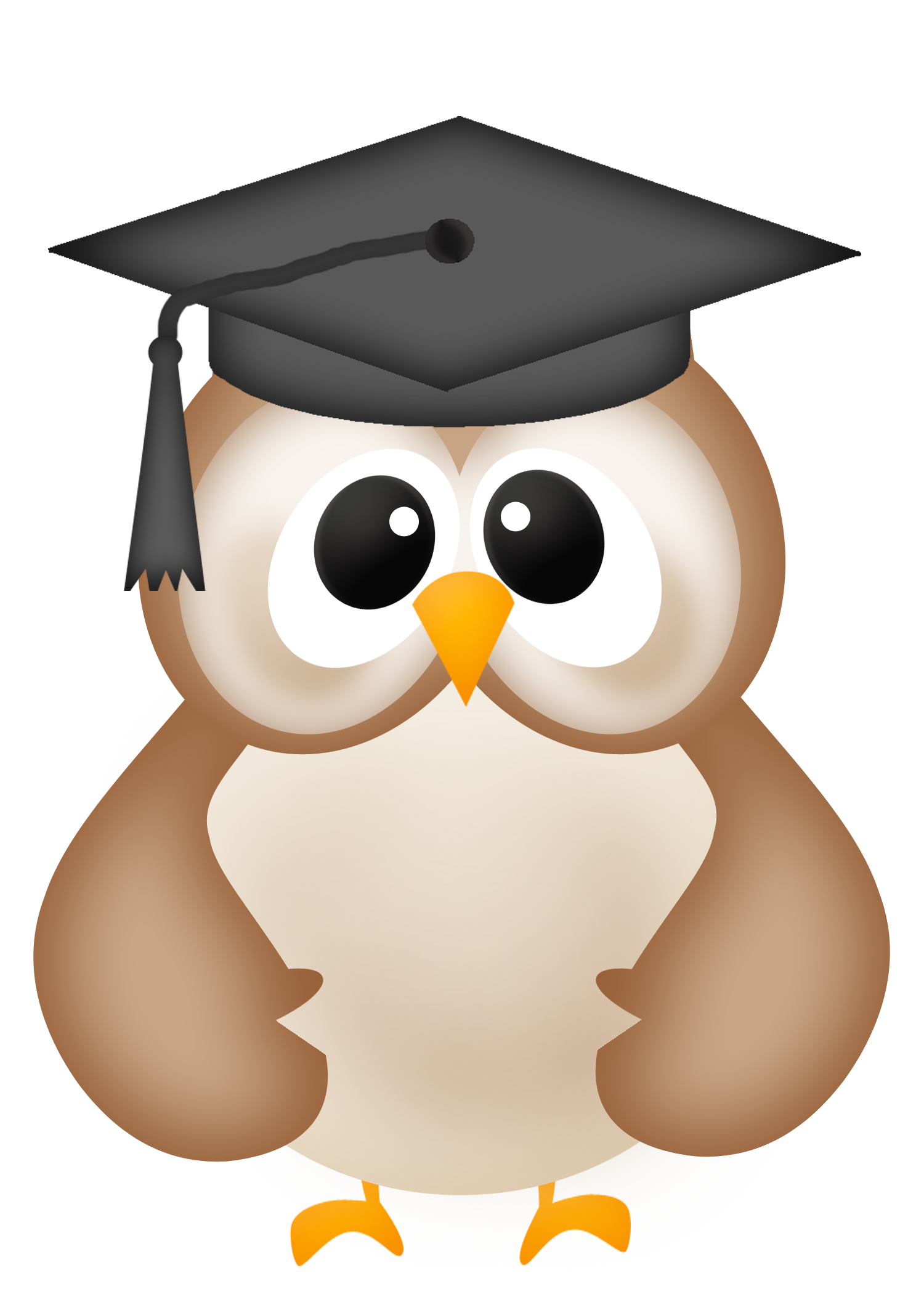 Owl panda free images. Family clipart graduation