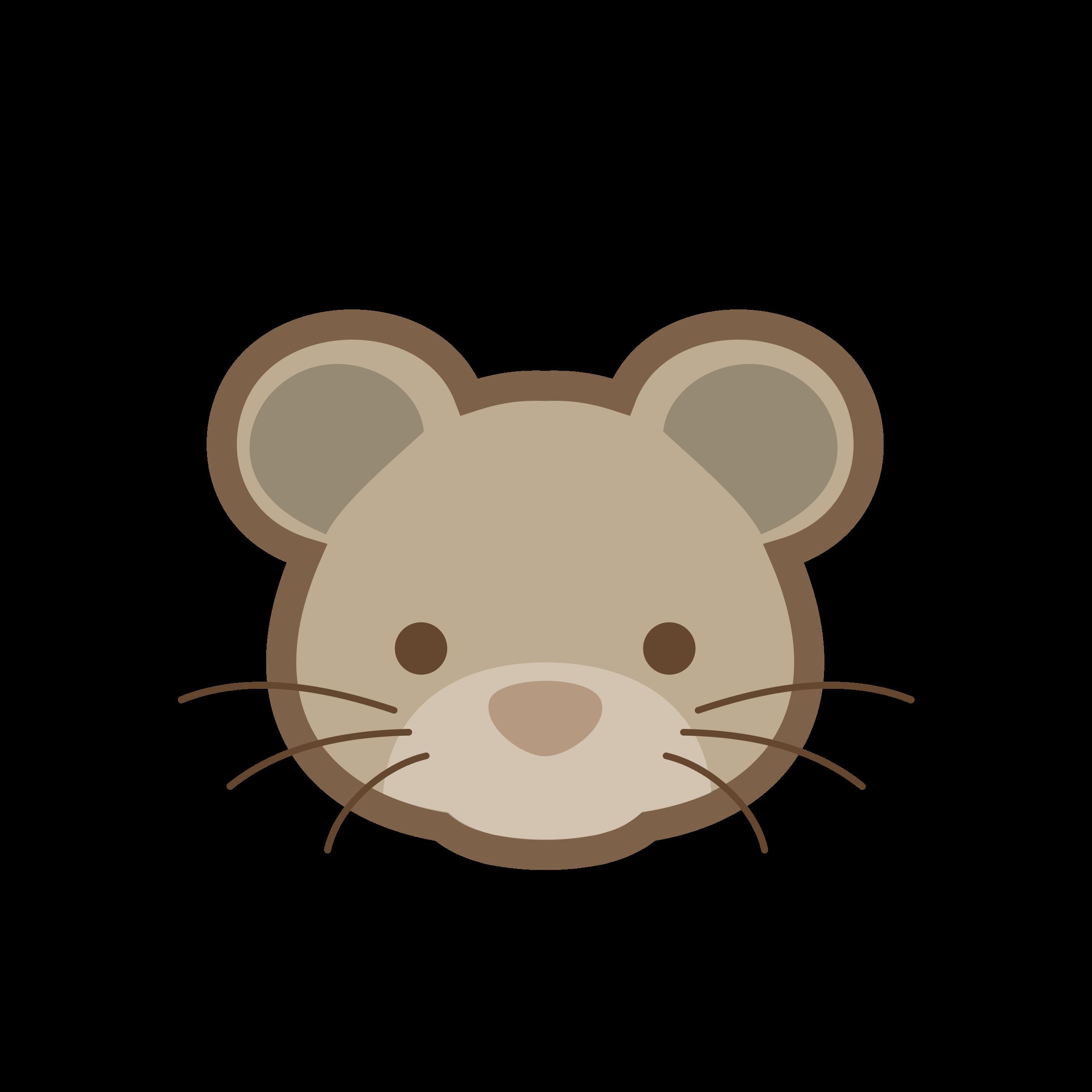 Rat animal frames illustrations. Hamster clipart colour
