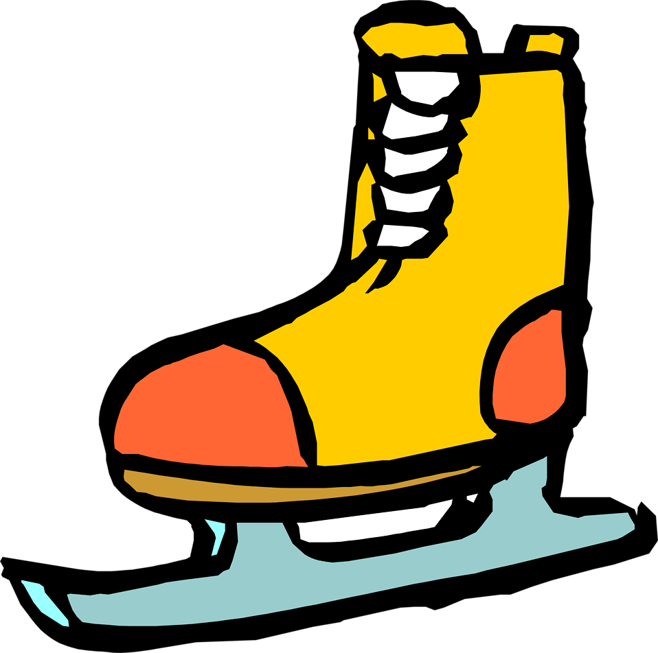 Library clipart transparent. Ice skate free stock