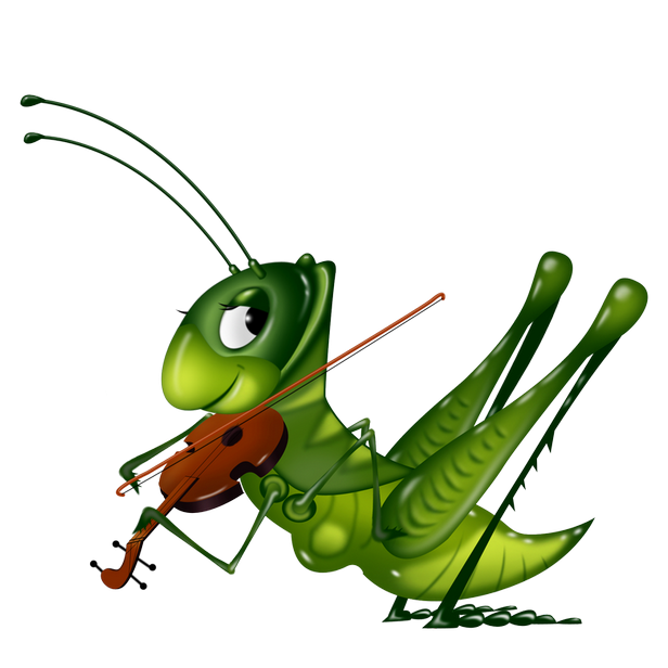 insect clipart happy