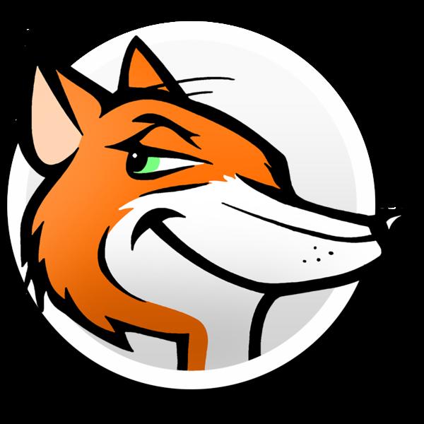 clipart fox jackal