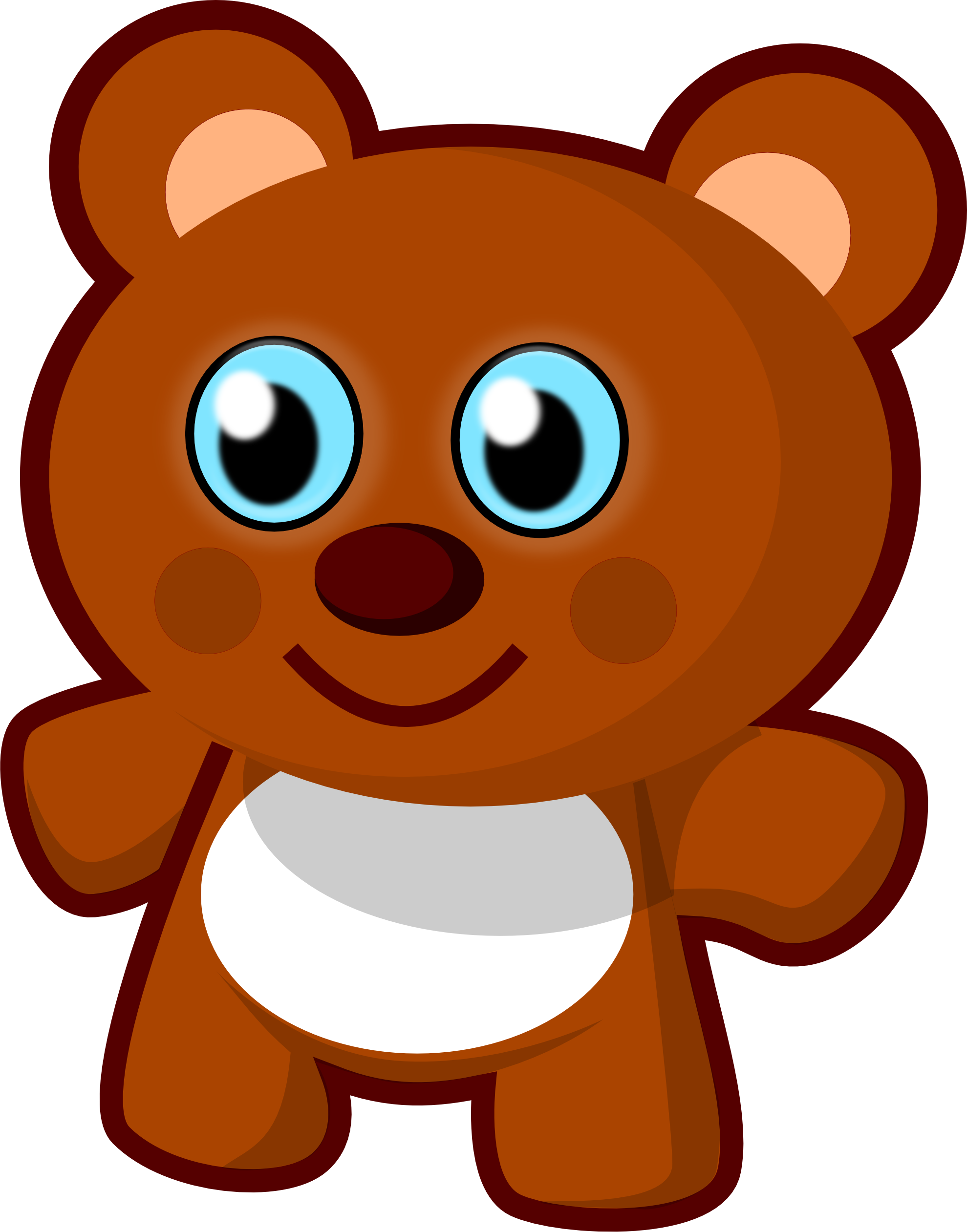 Cute bear best pictures. Conflict clipart office