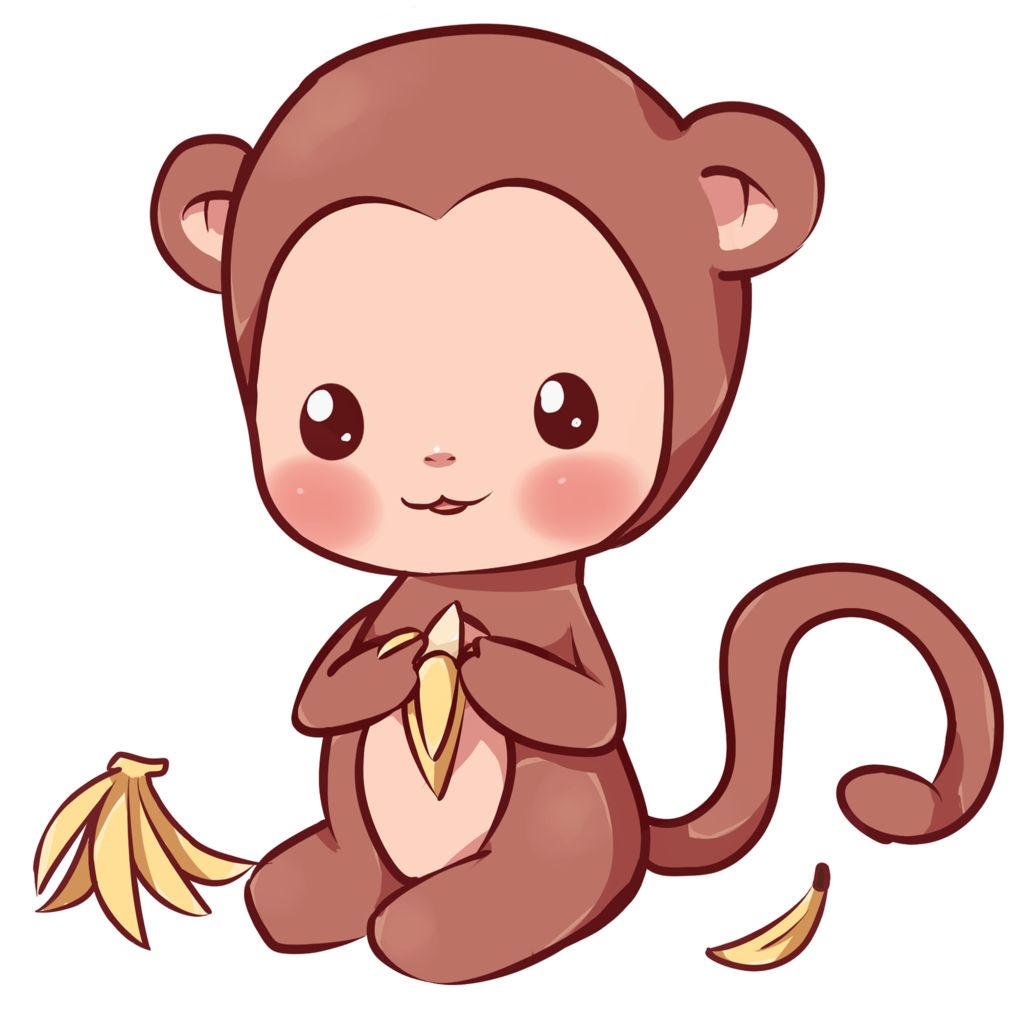 monkeys clipart realistic