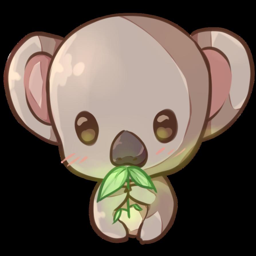 Koala copie by dessineka. Clipart bread kawaii