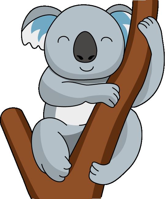 Image result for d. Clipart animals koala