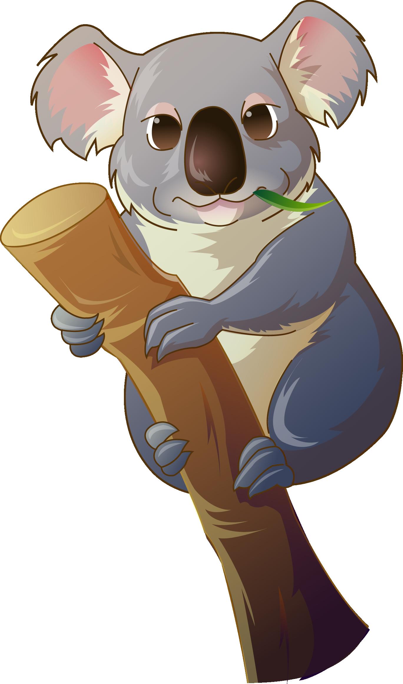 Bear clip art lazy. Clipart animals koala