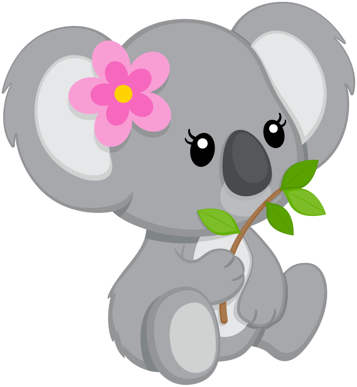 Pin by sylvia jensen. Clipart animals koala