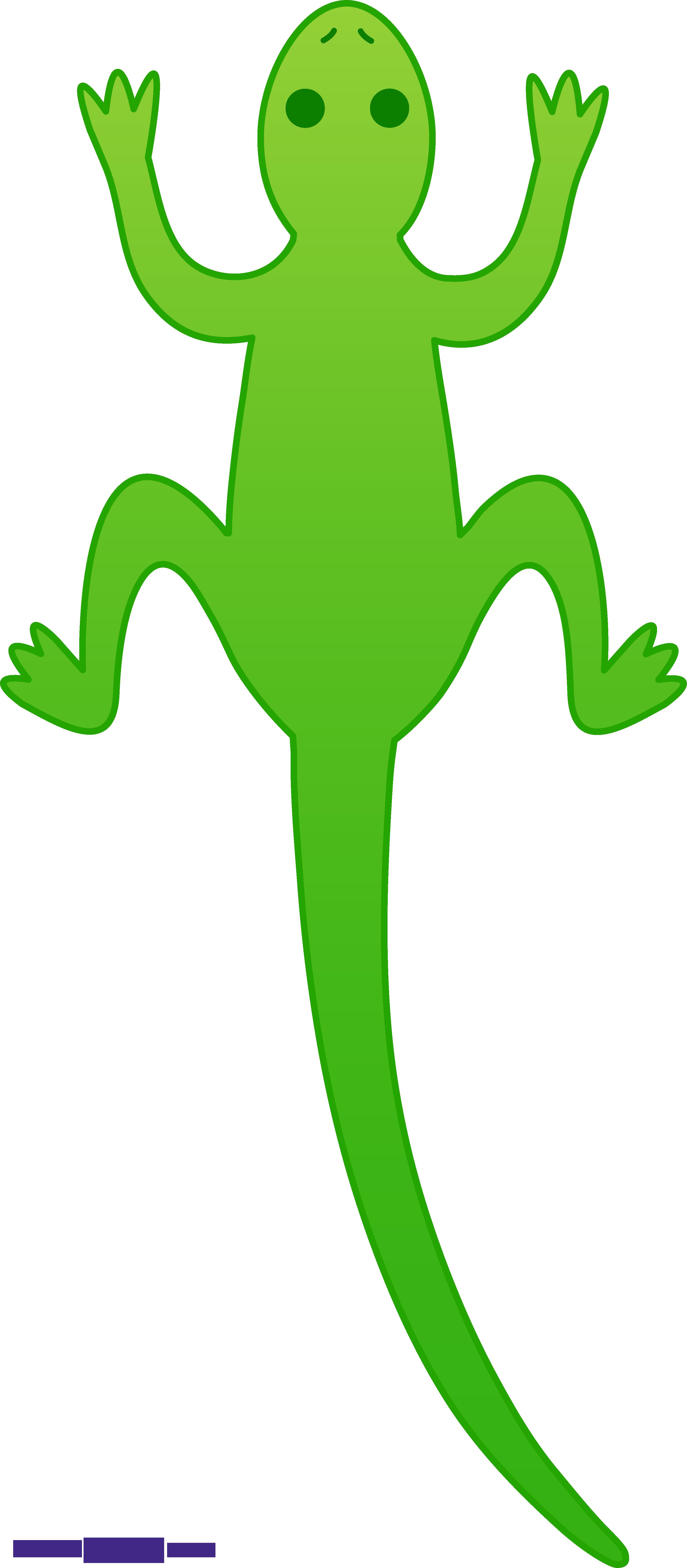 Gecko clipart lagartija. Lizard green sweet clip