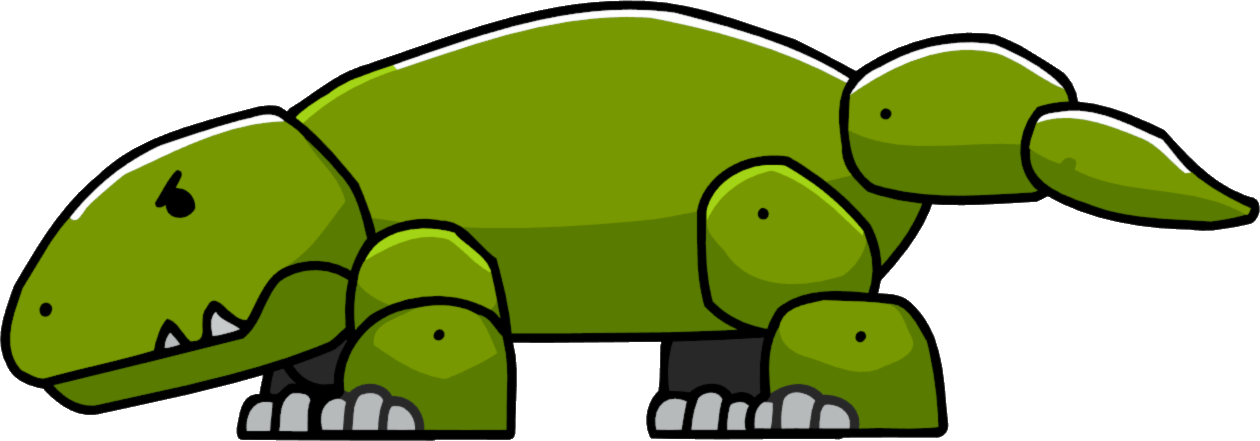 Lizard monitor lizard