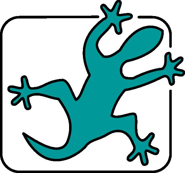 Gecko clipart line drawing. Lizard clip art at