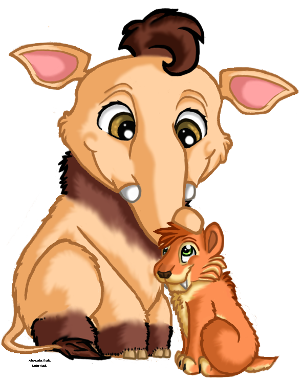 Clipart animals lobo. Ice age buddies by