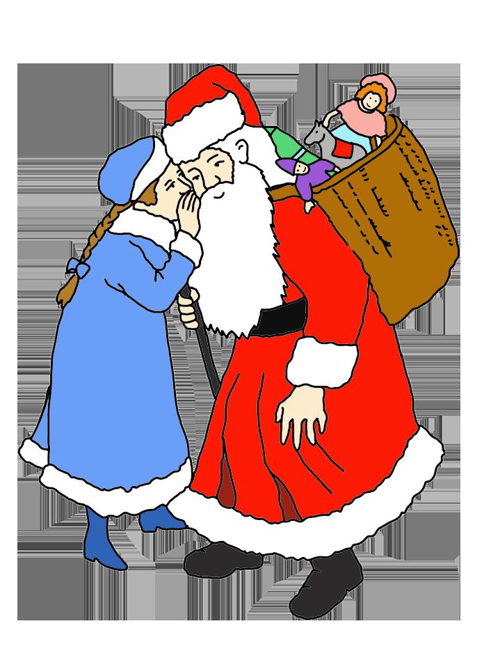 Gift clipart sack. Funny and free santa