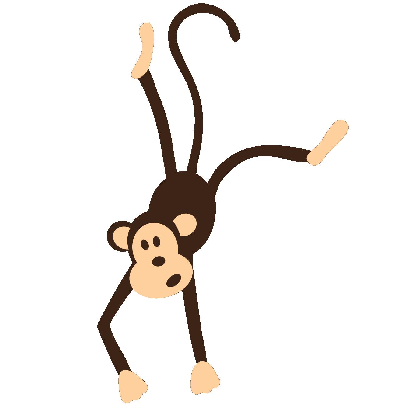 Monkey clipart animal. Clip art for teachers