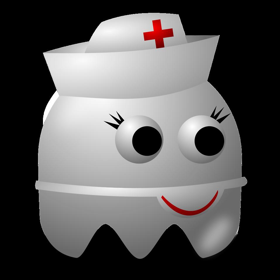 Ghost free stock photo. Nurse clipart borders