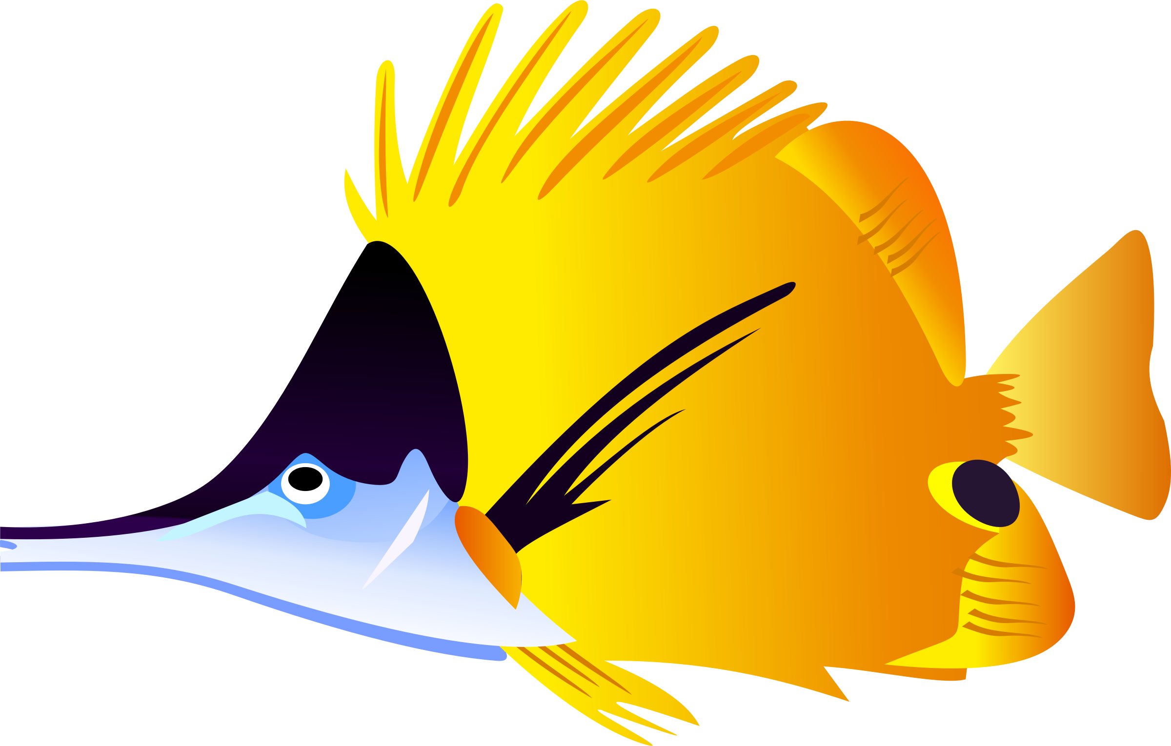 Tuna clipart cute. Saltwater fish at getdrawings