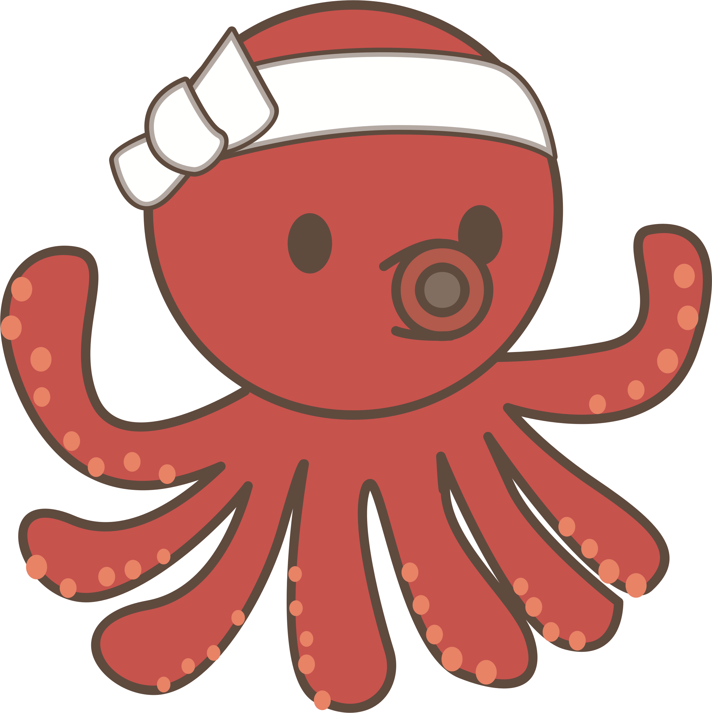 Clipart octopus pdf. Png