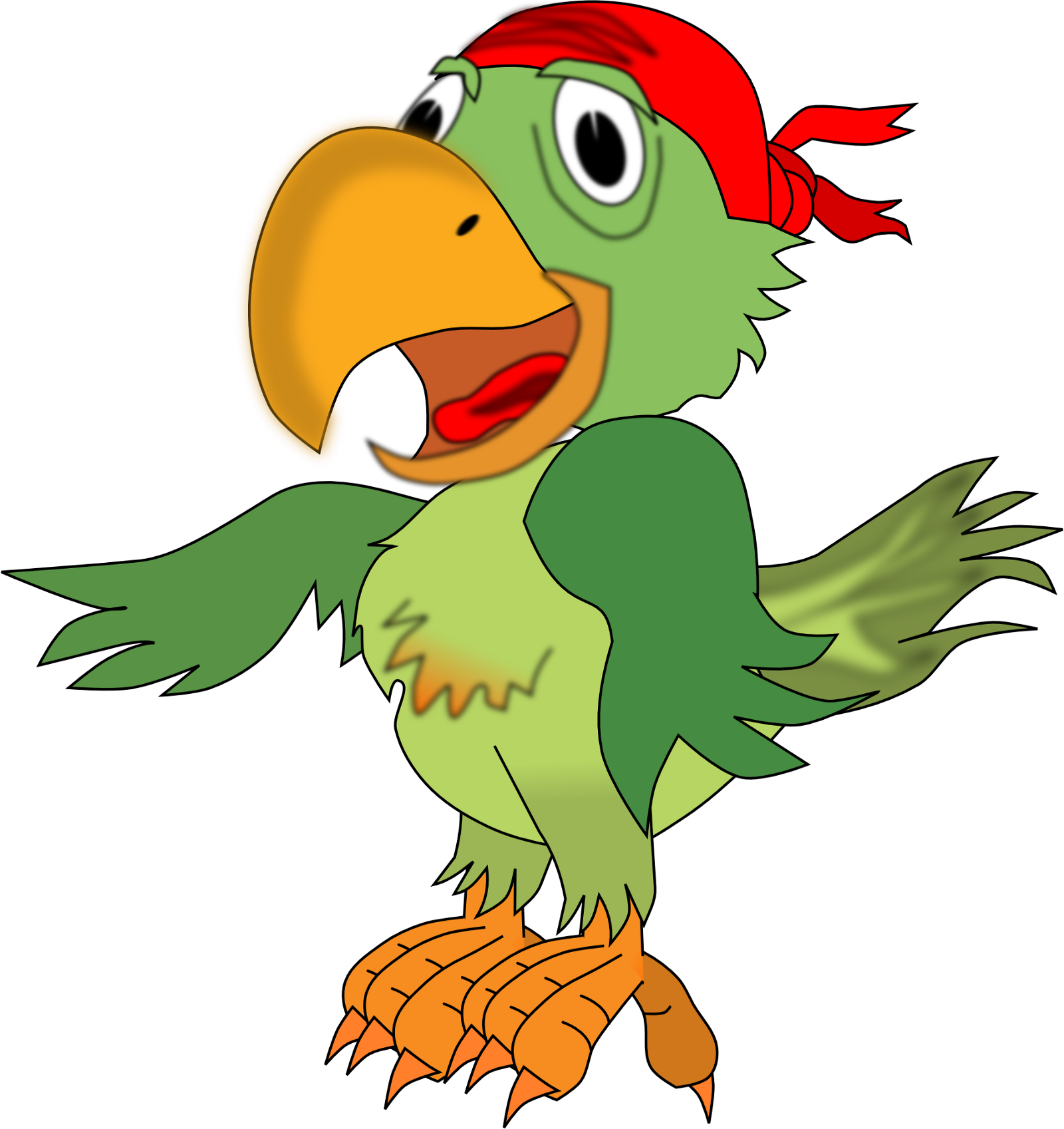 Parrot clipart beautiful parrot. Story of a motivational