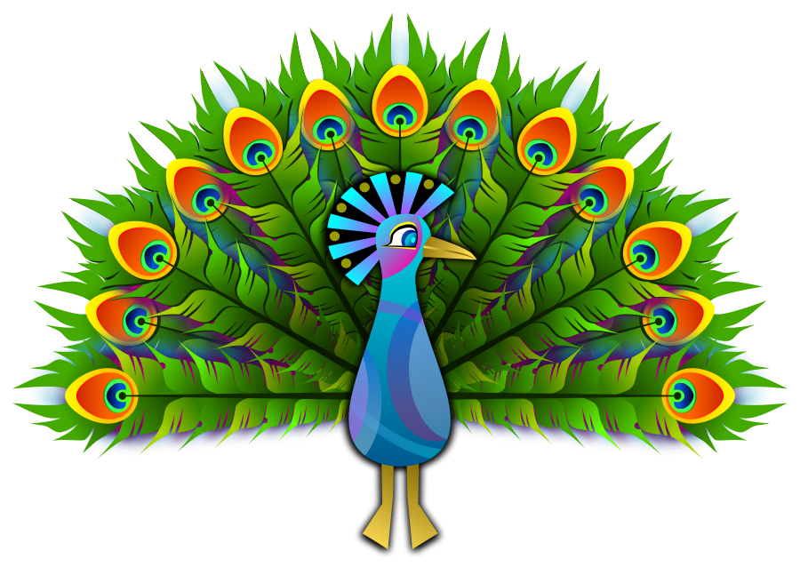 At getdrawings com free. Wing clipart peacock