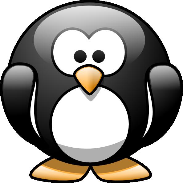 Cartoon clip art at. Clipart penquin group penguin