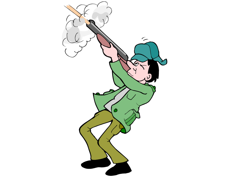 Hunting clipart boy hunting. Free animal for kids