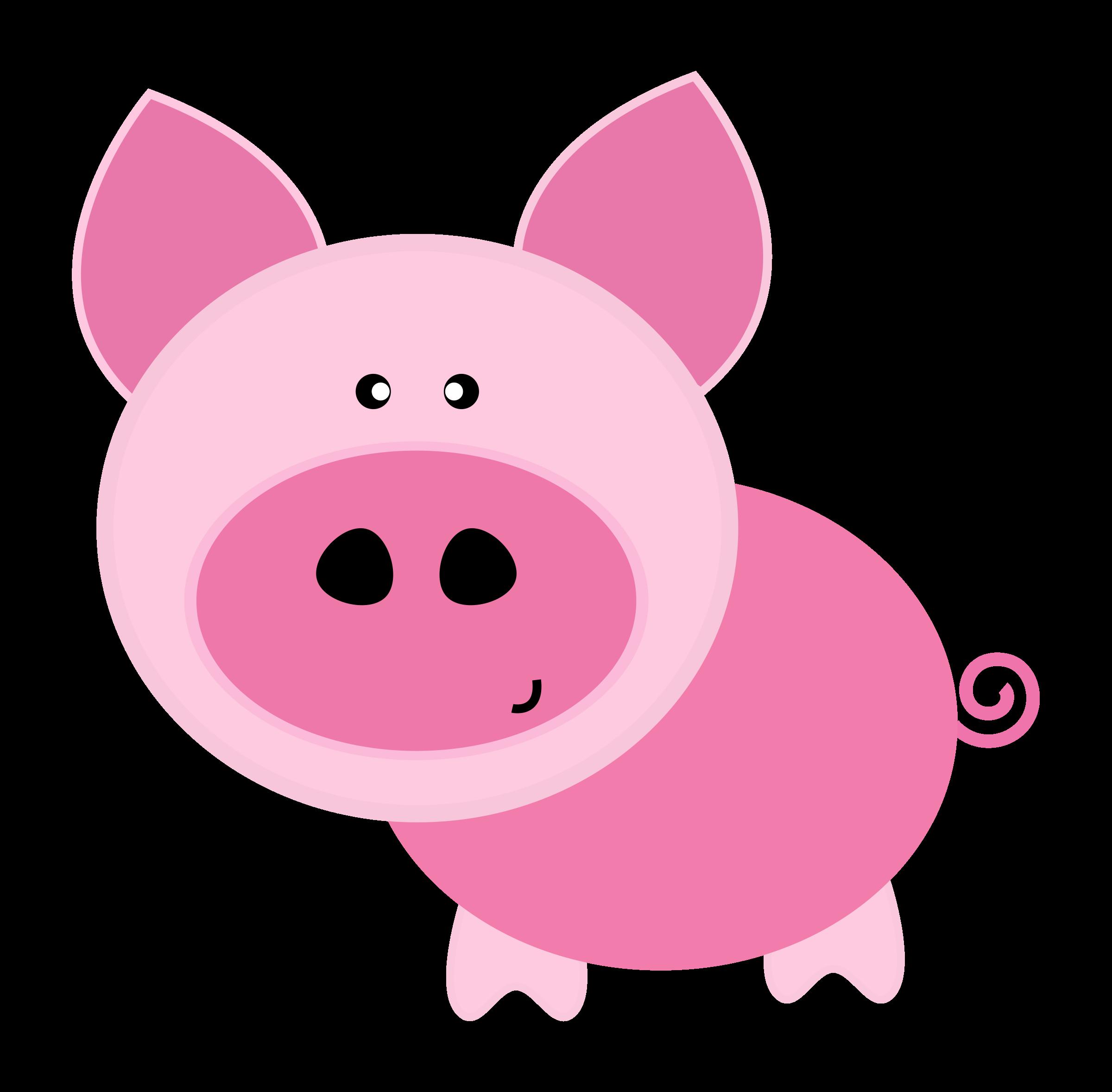 Pigs clipart swine. Pig big image png