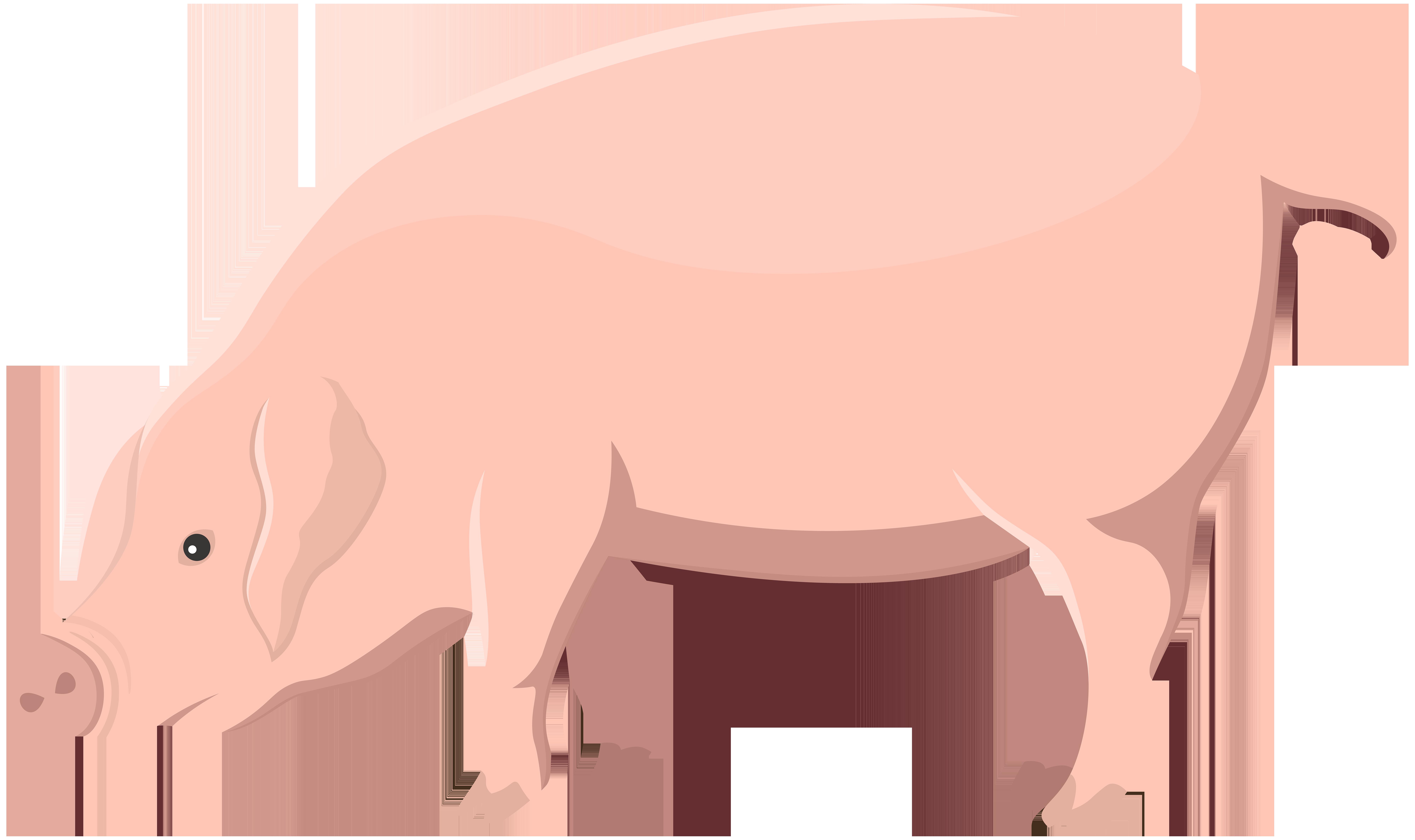 Transparent clip art image. Clipart pig beach