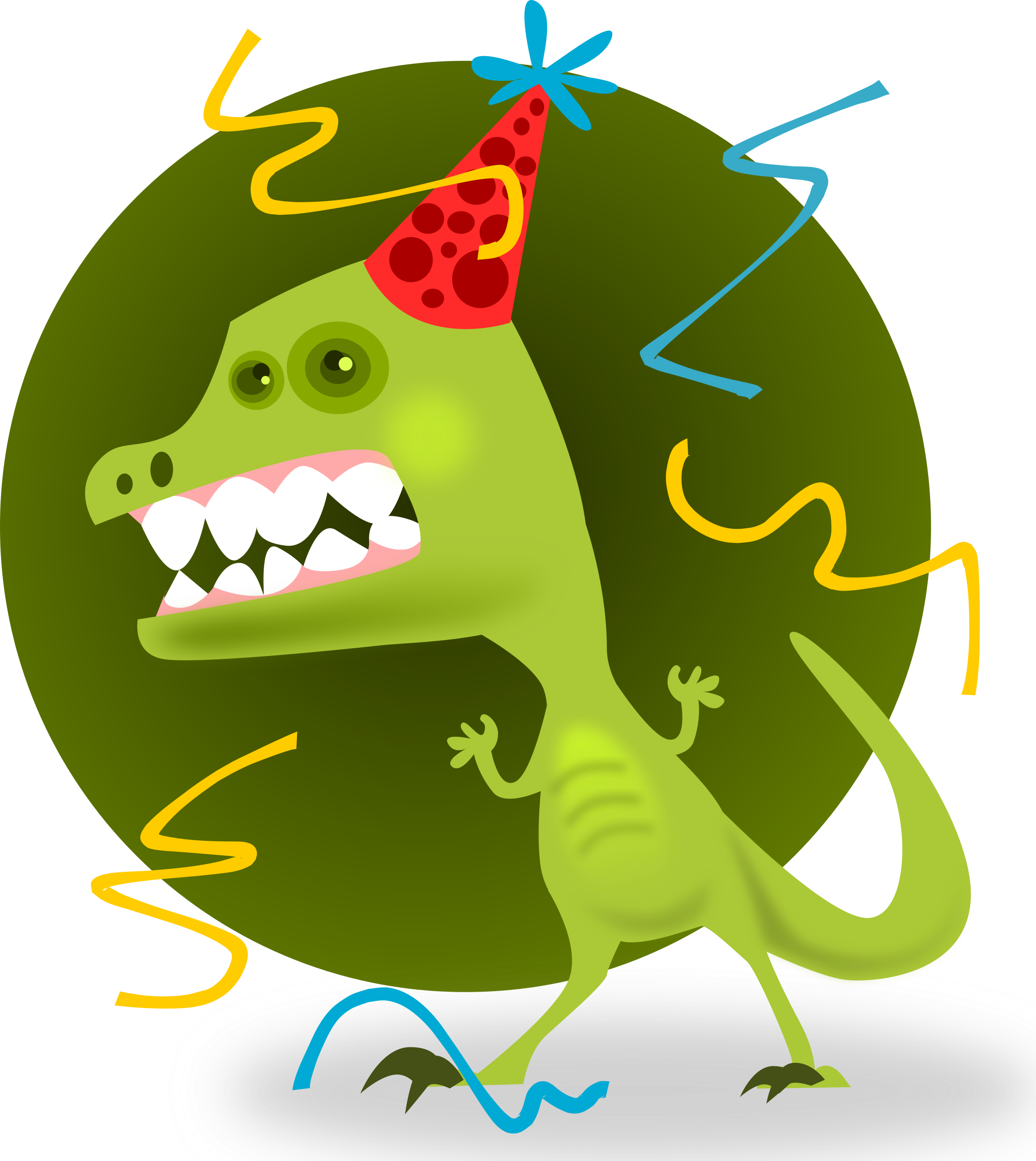 Animal big image png. Dinosaur clipart party
