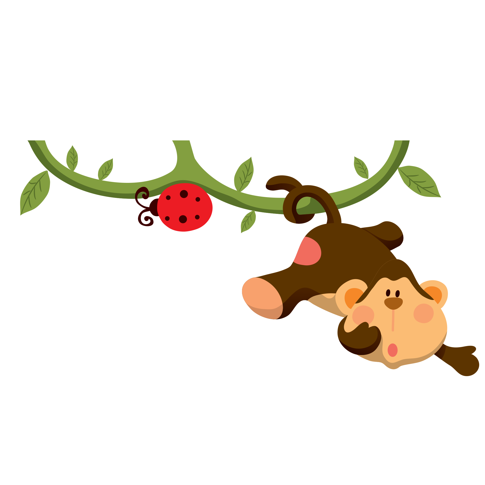 Foods clipart baby. Jungle animals cartoon infant