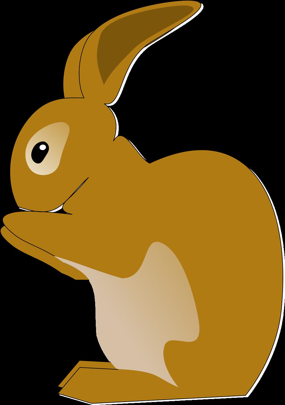 Clipart bunny transparent background. Rabbit free stock photo