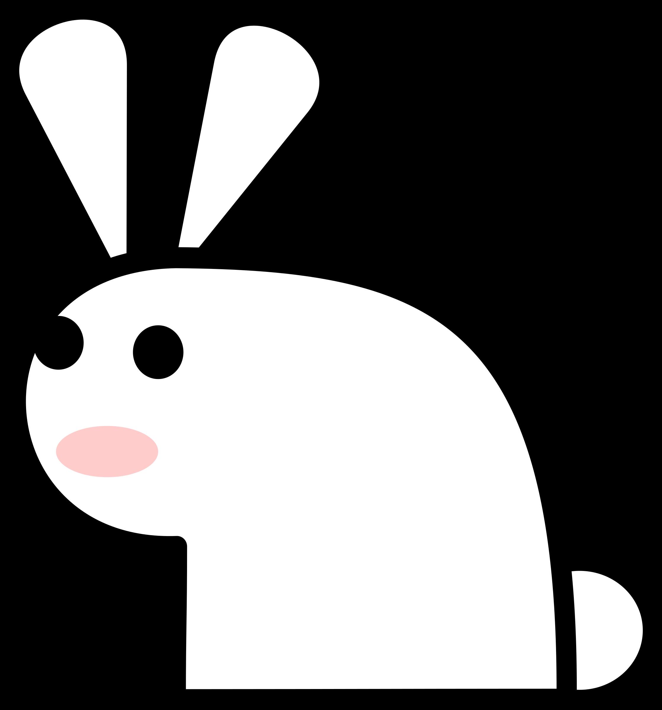 Big image png. Clipart rabbit jack rabbit