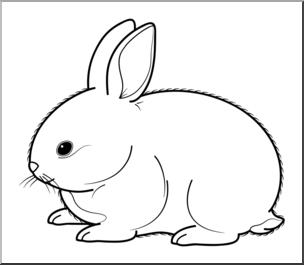Clipart rabbit mammal. Clip art baby animals