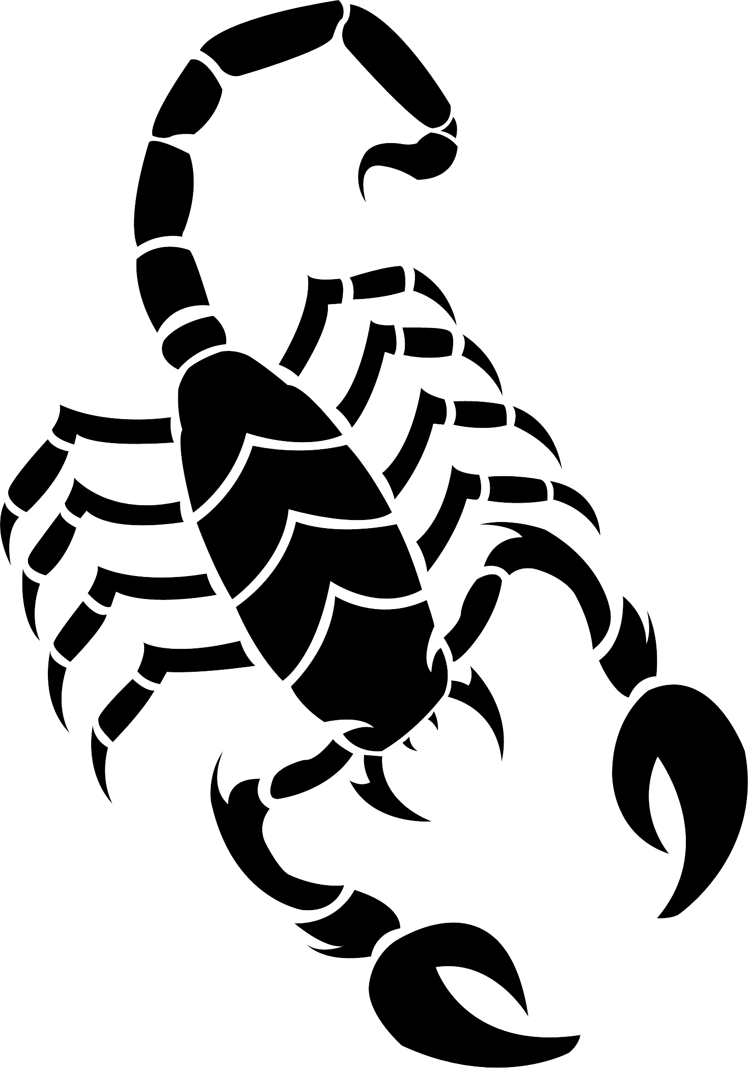 Scorpion png image purepng. Crabs clipart drawn