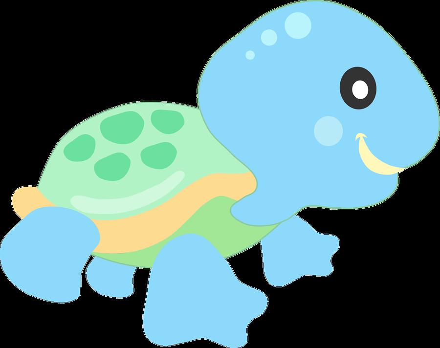 Clipart fish turtle. Clip art animals misc
