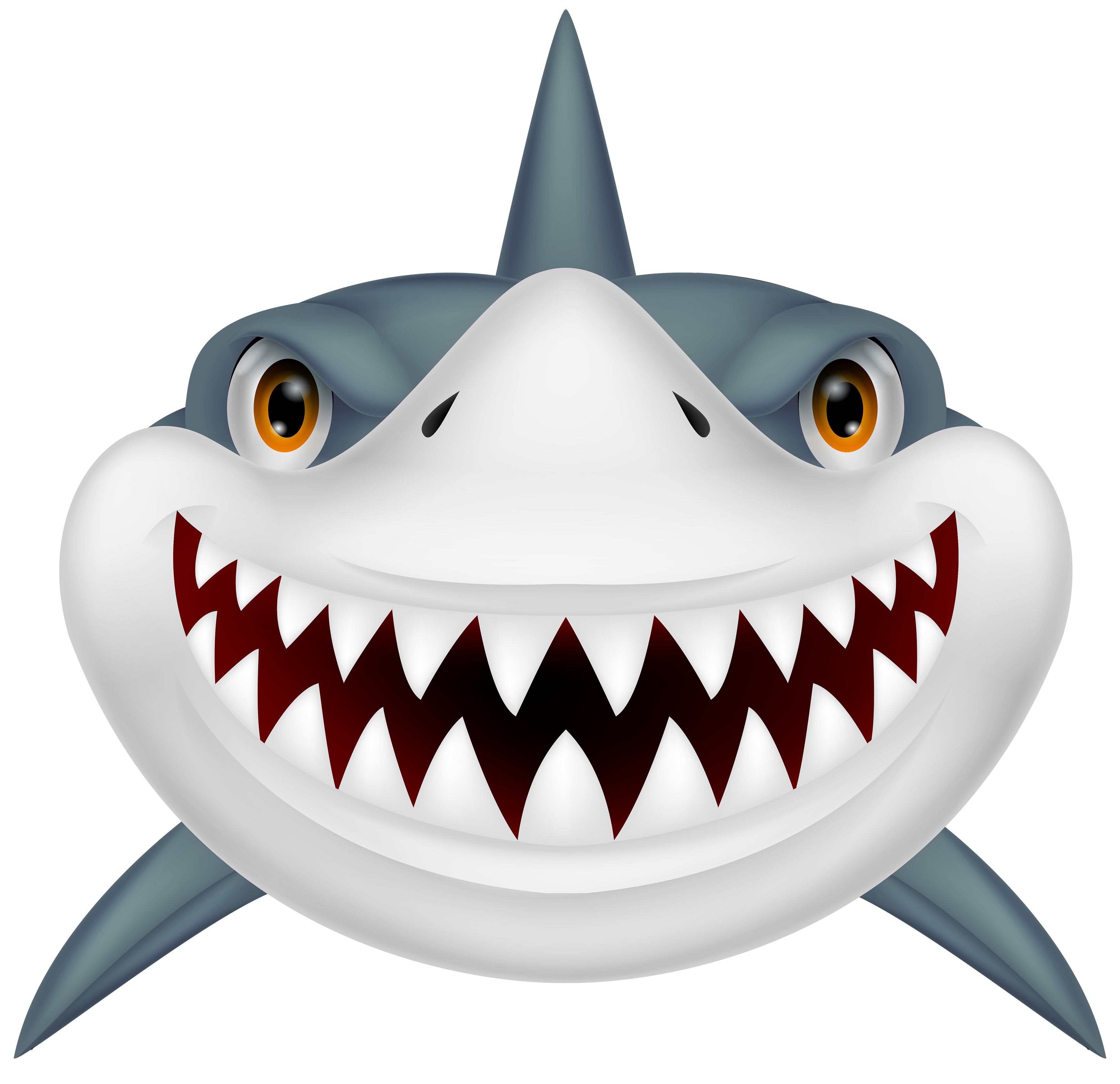 Scary png best web. Family clipart shark