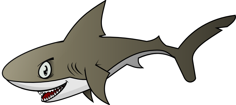 Free to use public. Clipart shark word