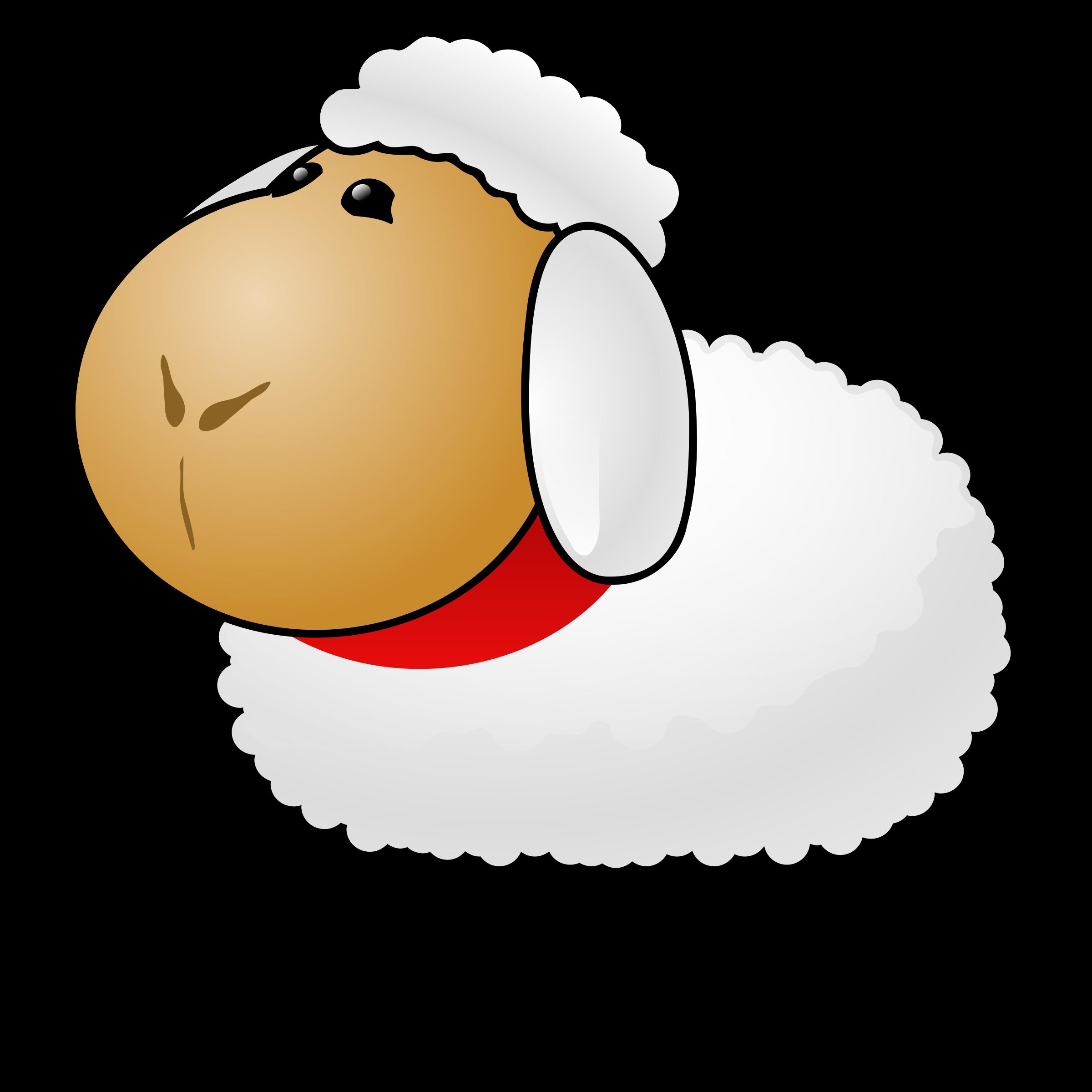 Sheep big image png. Lamb clipart scared