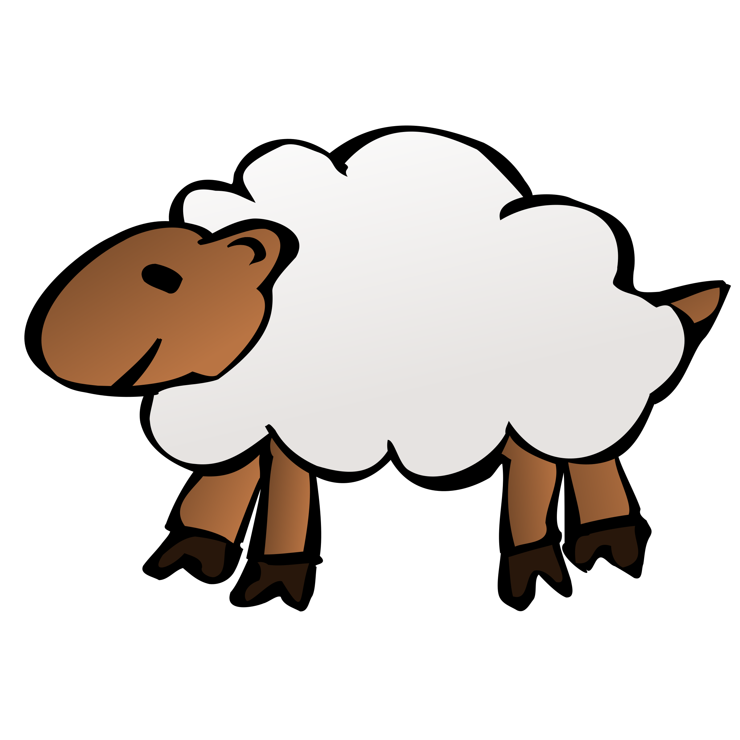 Clipart goat sheep.