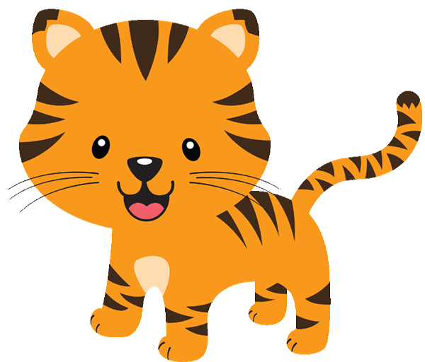 Free yellow animal cliparts. Cute clipart transparent