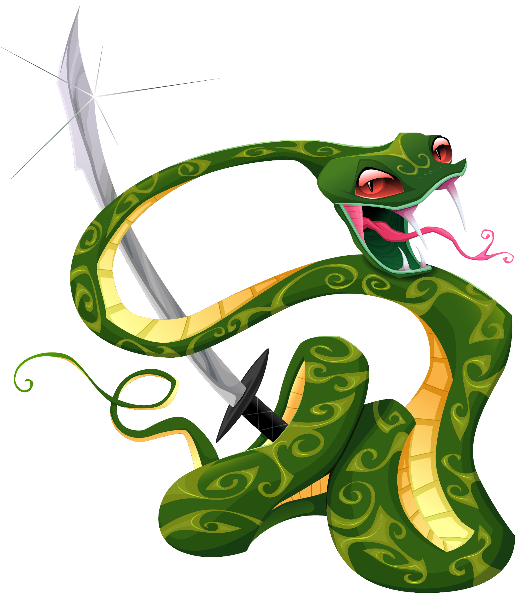 Tattoo png transparent quality. Clipart numbers snake