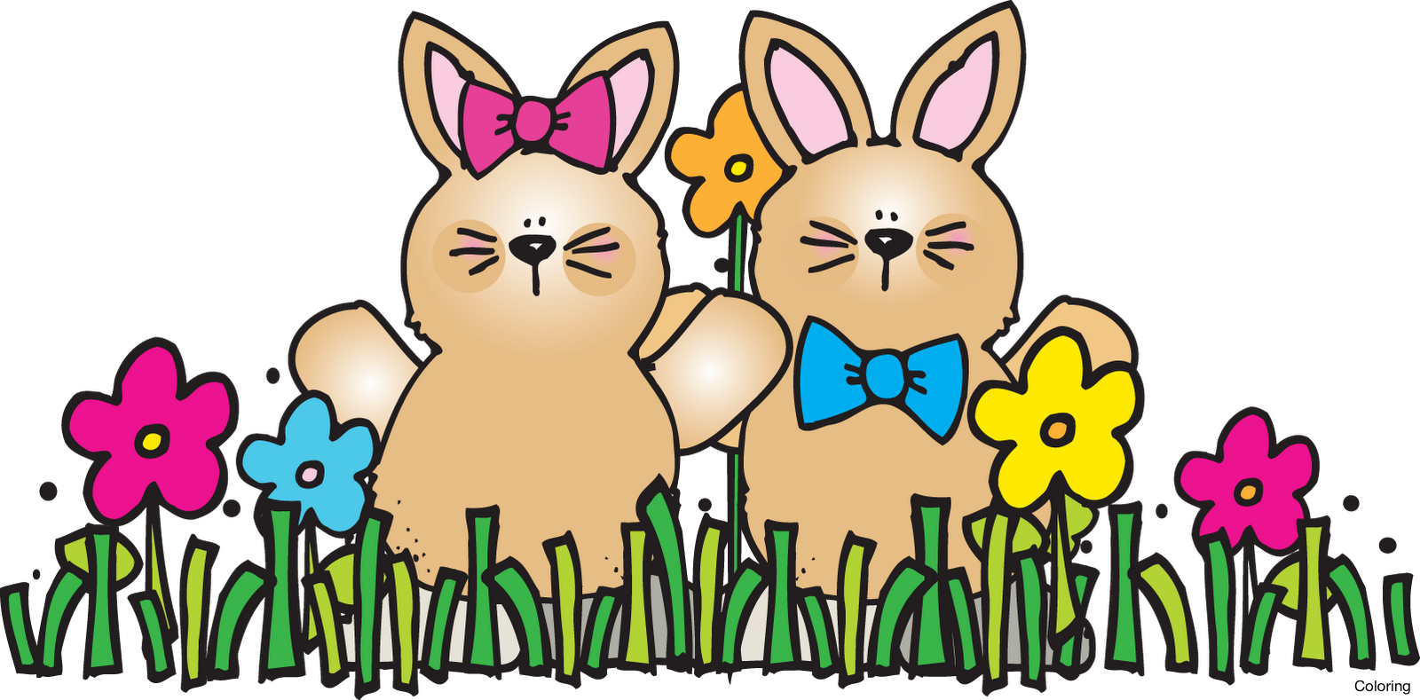 Holiday clipart spring. Bunny at getdrawings com