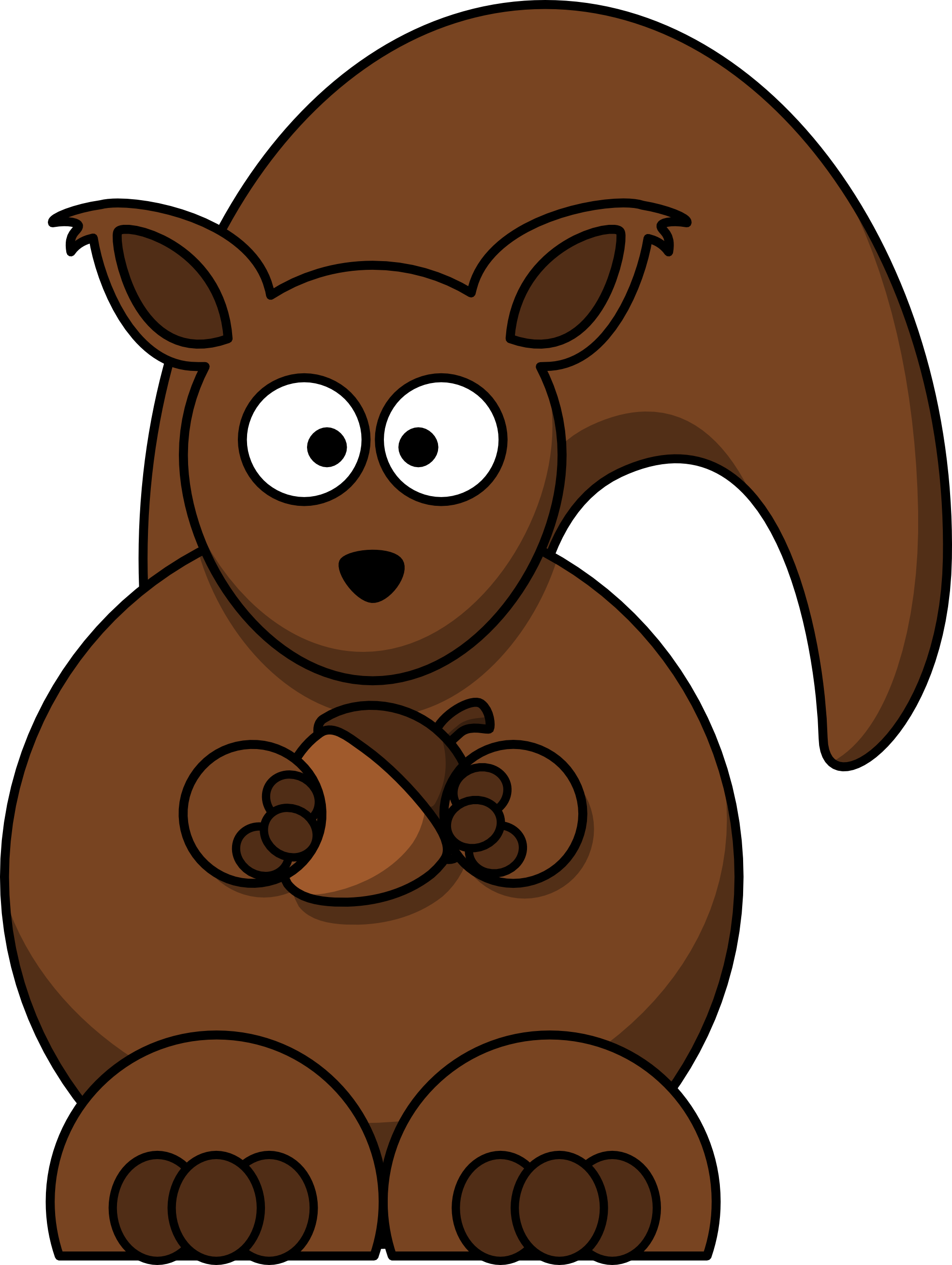 Woodland clipart squirrel. Free animated download clip