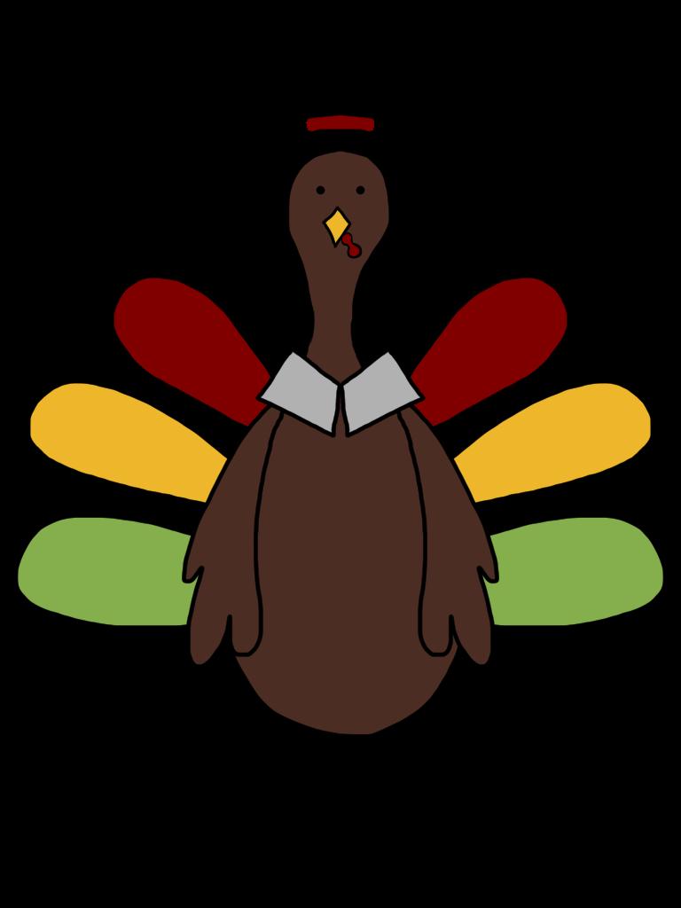 clipart turkey teacher