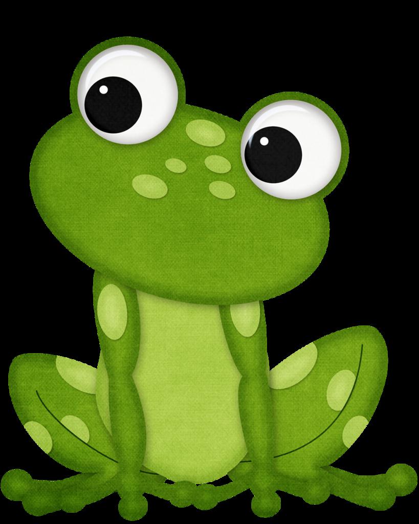 snake clipart frog