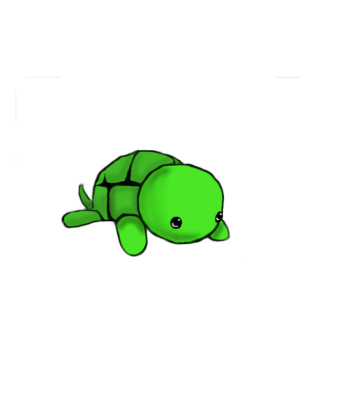 cute drawings of turtles