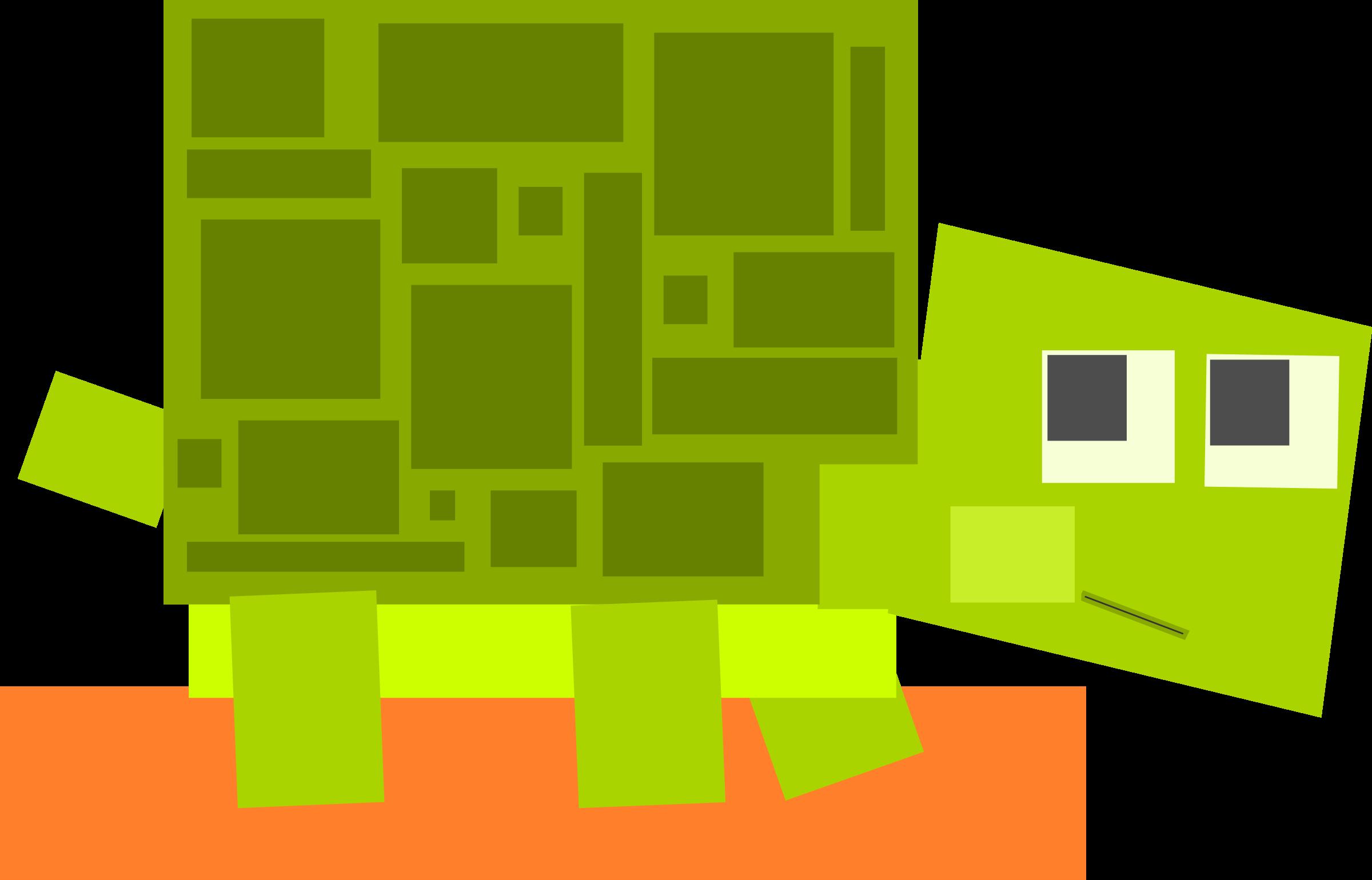 square clipart cartoon
