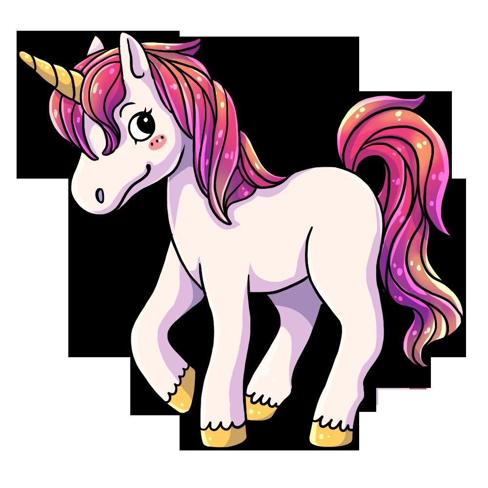 clipart unicorn high resolution