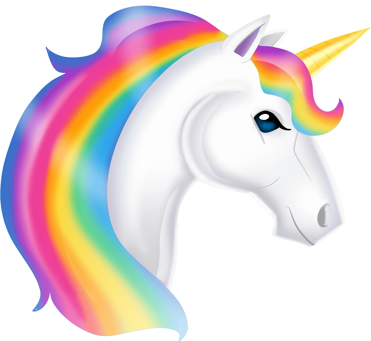 Pin by marina on. Donut clipart unicorn