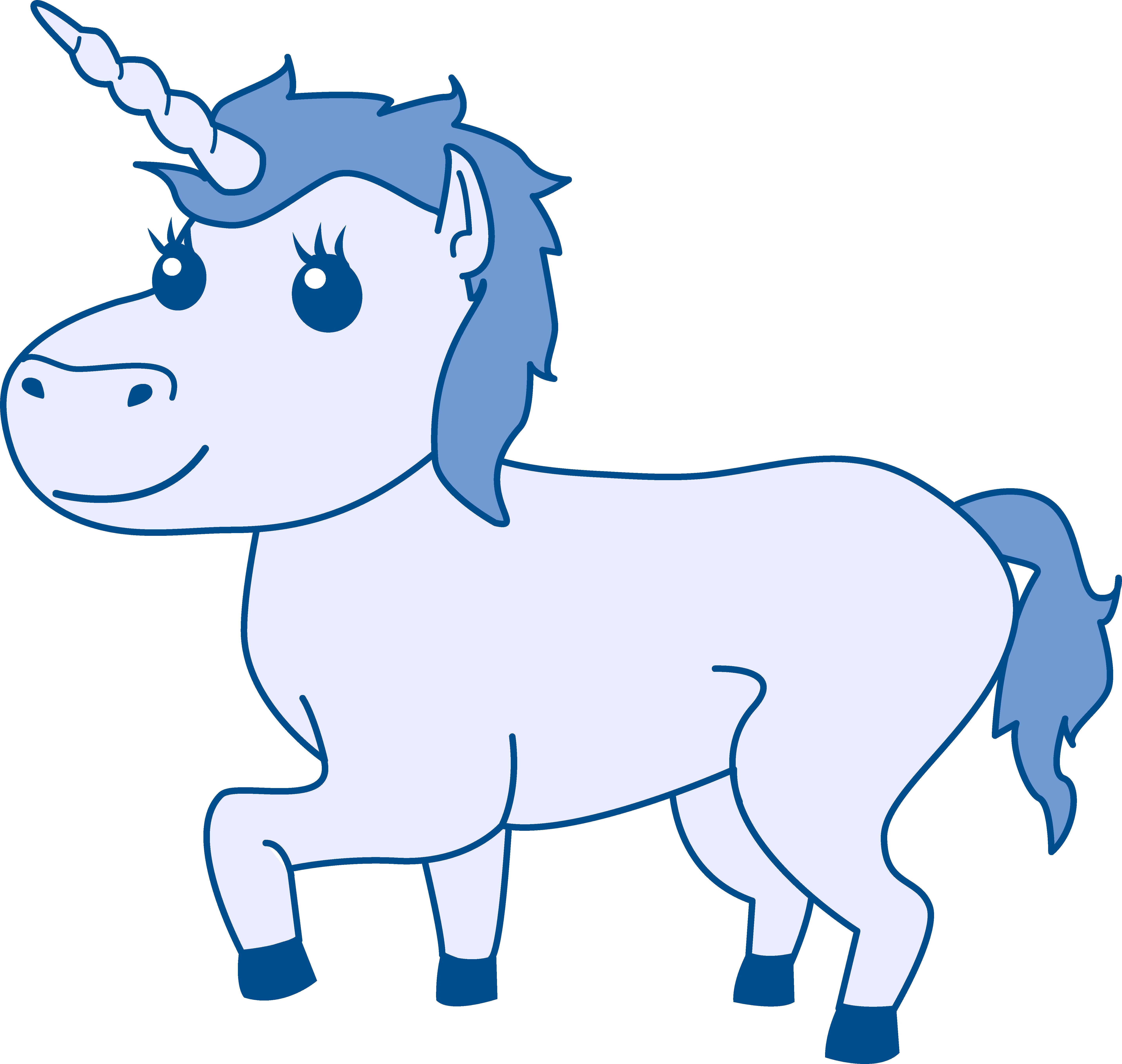 clipart unicorn design